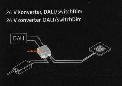 Nimbus 007-069 LED Konverter 25W für Dali / switch Dim