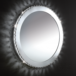 Eglo 94085 Toneria LED 36W Kristall Spiegel rund Serie 484