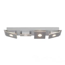 Brilliant Exact  G652445/21 LED Deckenleuchte long