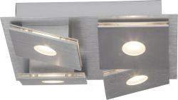 Brilliant Exact G65235/21 LED Deckenleuchte Square