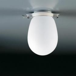Milan Bano 5857 Deckenleuchte Glas opal 60W