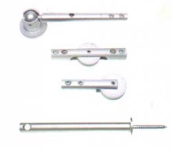 Oligo Niedervolt-Seilsystem LIGHT-LINE 16-121-10-05 X-Kupplung16-155-10-05 Umlenkung Decke