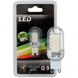 Liluco 08188 LED 2,5W G9 Leuchtmittel Retrofit