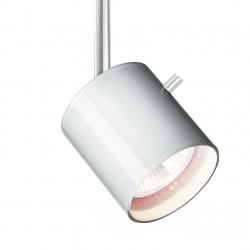 Bruck Duolare 800236 Blende Glas Weiß Lack  zu Strahler Clareo